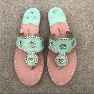 Jack Rogers exclusive rio Navajo sandals size 8